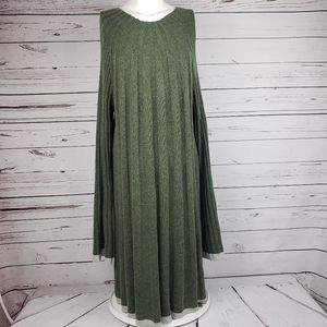 Anthropology Pleated Dress size XL